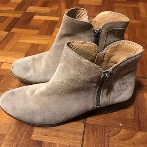 Lucky Brand Basel suede chinchilla boots - 10M